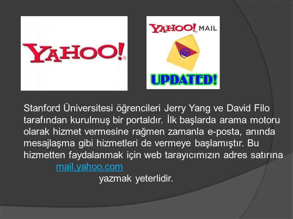 Stanford Üniversitesi öğrencileri Jerry Yang ve David Filo tarafından kurulmuş bir portaldır. İlk başlarda arama motoru olarak hizmet vermesine rağmen zamanla e-posta, anında mesajlaşma gibi hizmetleri de vermeye başlamıştır. Bu hizmetten faydalanmak için web tarayıcımızın adres satırına