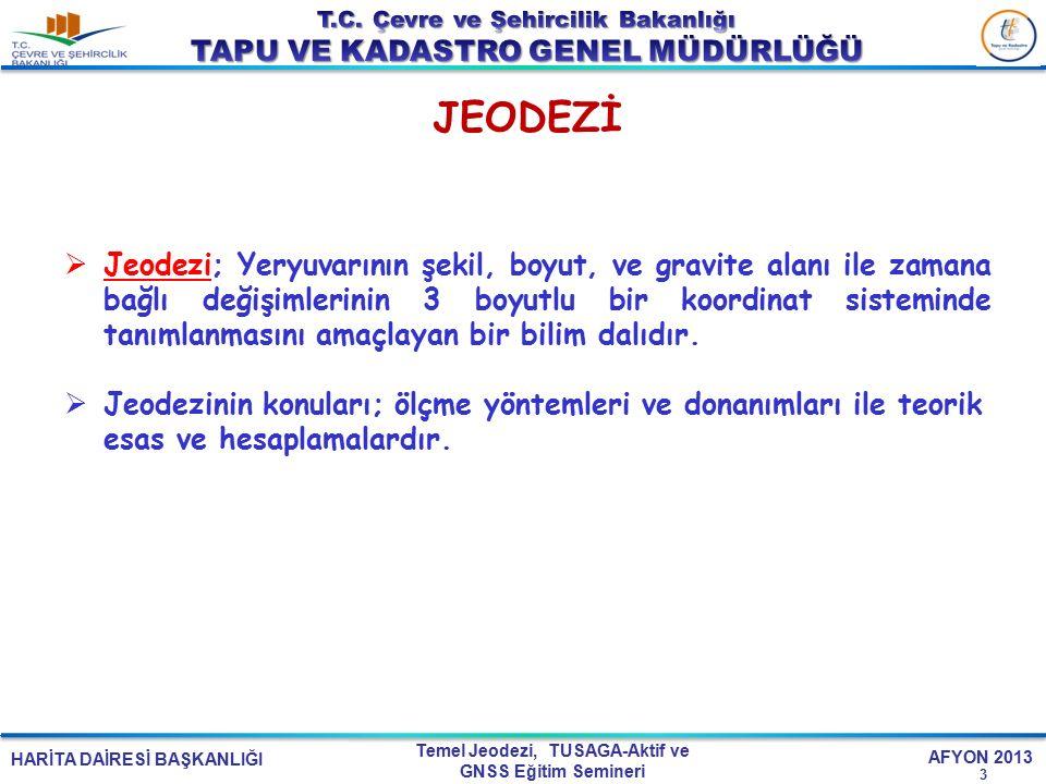 JEODEZİ