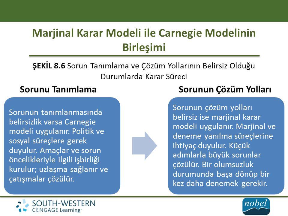Marjinal Karar Modeli ile Carnegie Modelinin Birleşimi