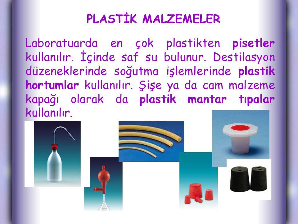 PLASTİK MALZEMELER
