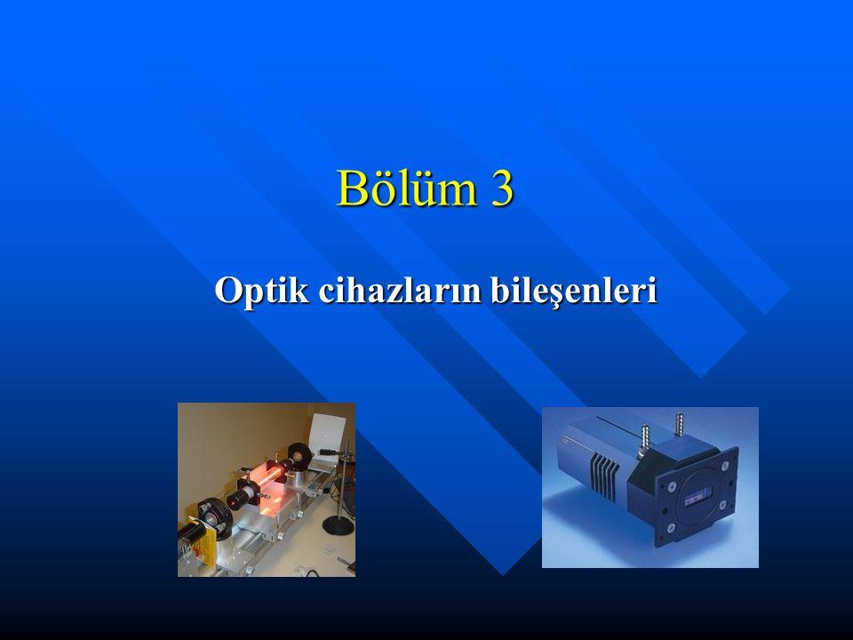 Optik cihazların bileşenleri