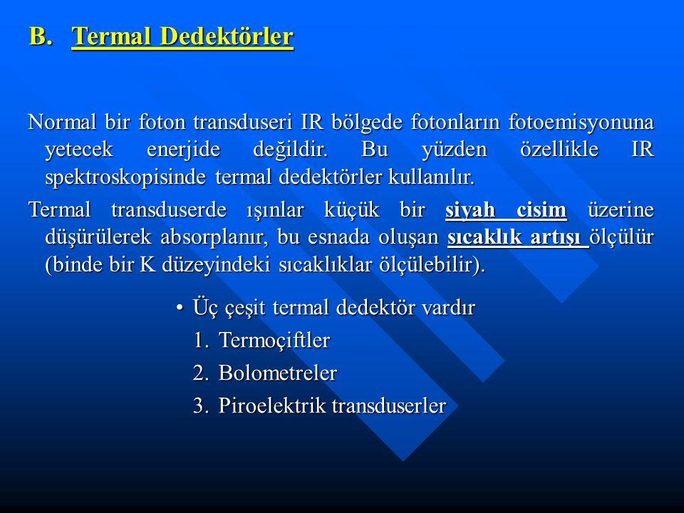 B. Termal Dedektörler