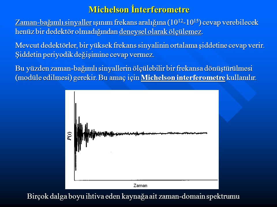 Michelson İnterferometre