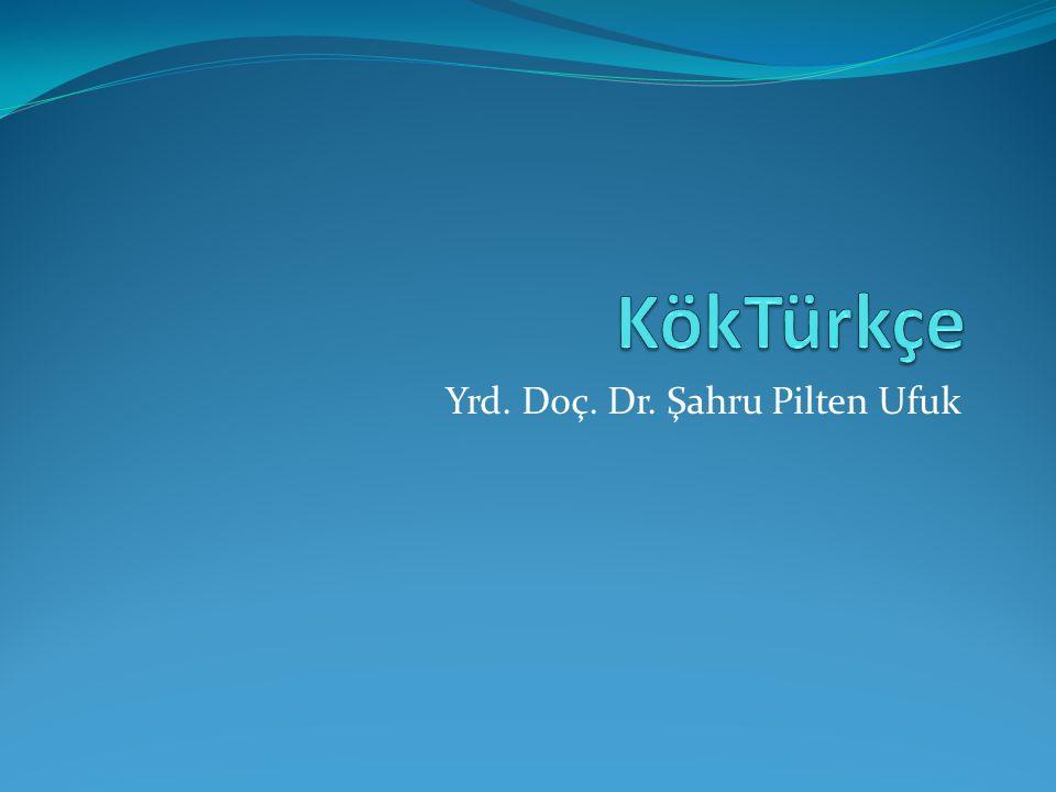 Yrd. Doç. Dr. Şahru Pilten Ufuk