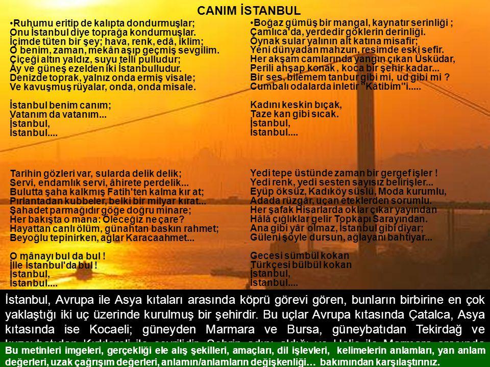 CANIM İSTANBUL