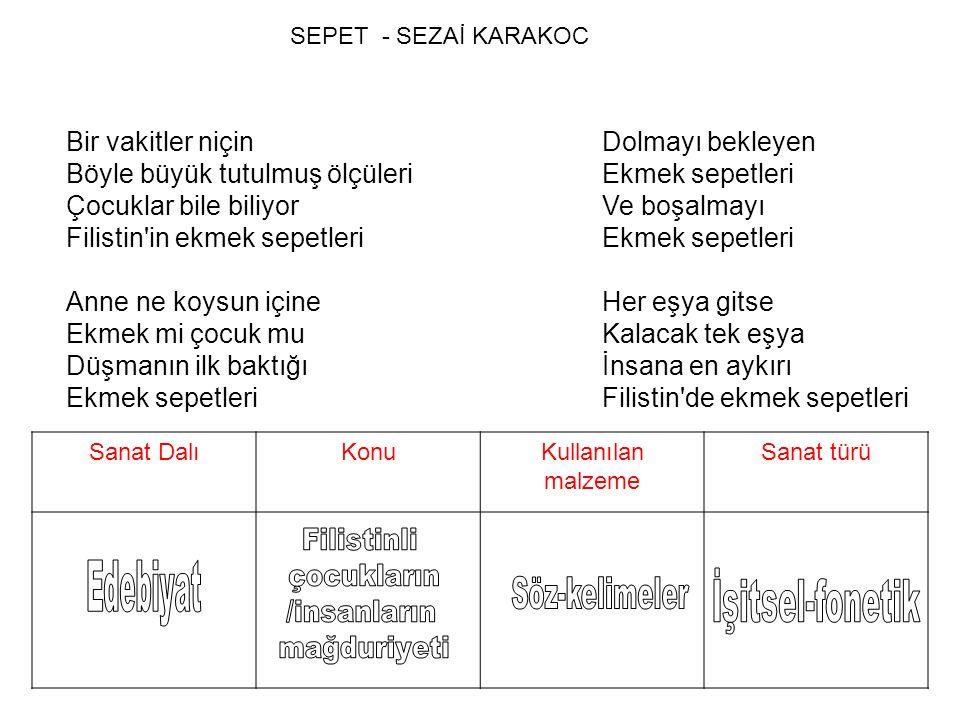 SEPET - SEZAİ KARAKOC