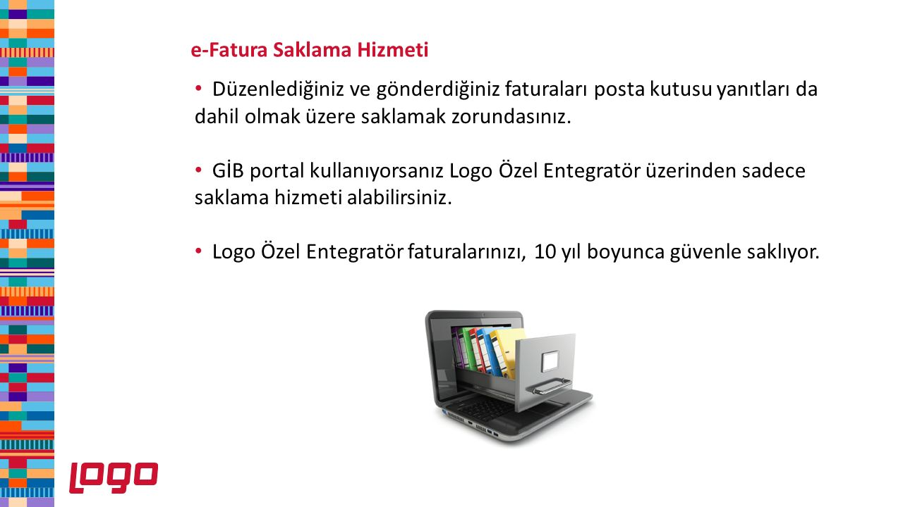 e-Fatura Saklama Hizmeti