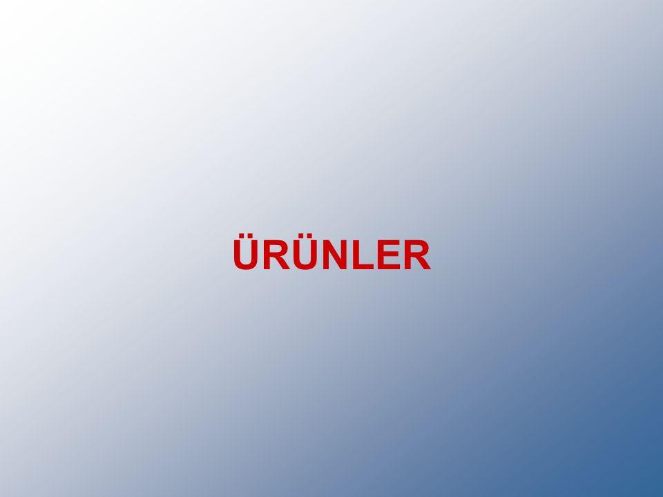 ÜRÜNLER