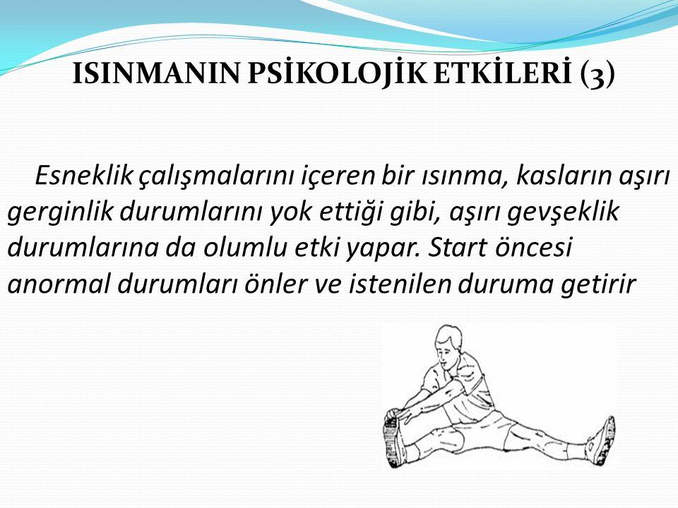 ISINMANIN PSİKOLOJİK ETKİLERİ (3)