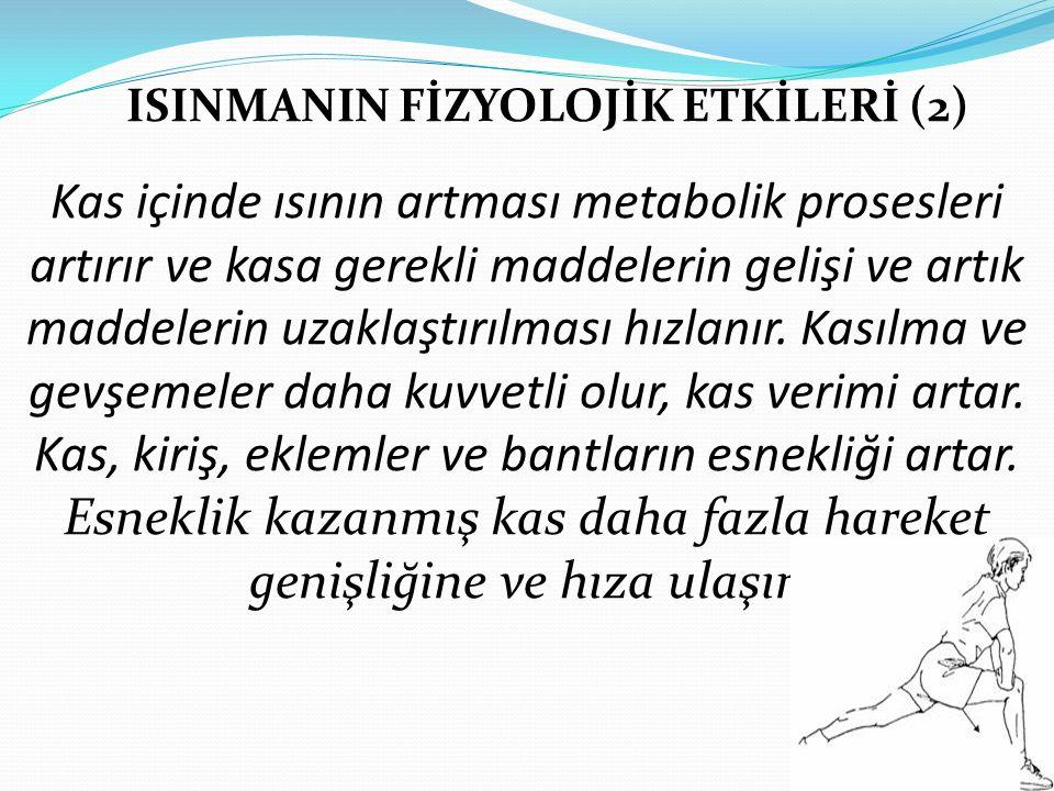 ISINMANIN FİZYOLOJİK ETKİLERİ (2)