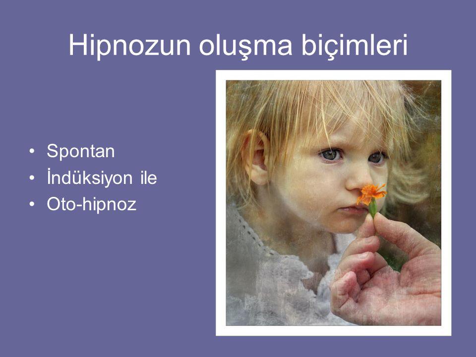Hipnozun oluşma biçimleri