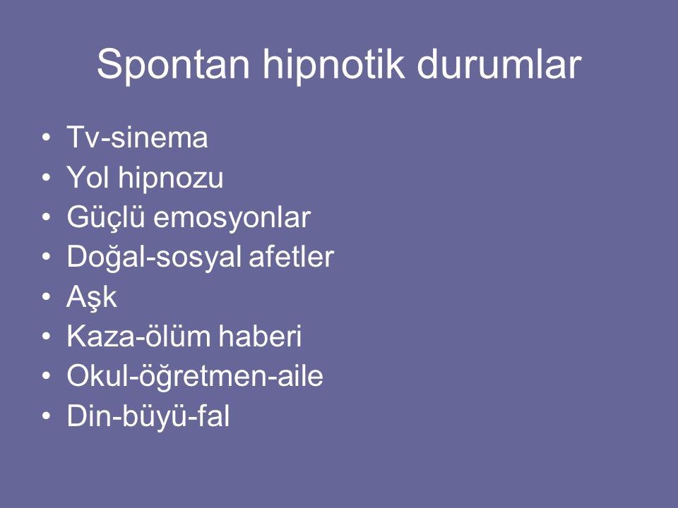 Spontan hipnotik durumlar