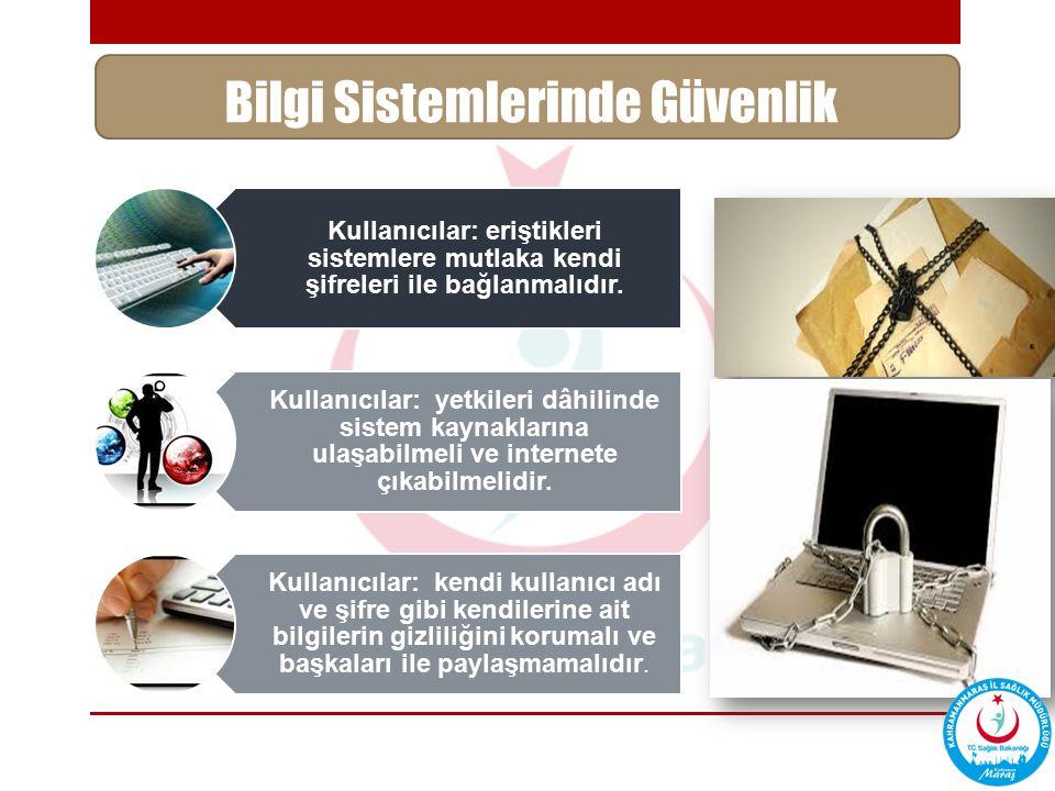 Bilgi Sistemlerinde Güvenlik