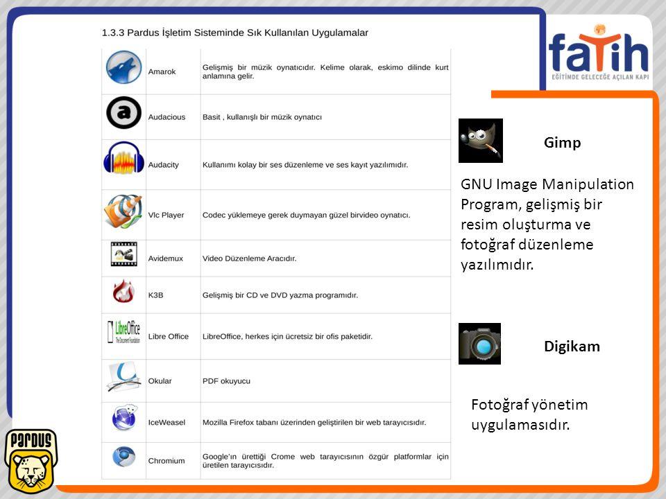 Gimp GNU Image Manipulation Program, gelişmiş bir. resim oluşturma ve fotoğraf düzenleme yazılımıdır.