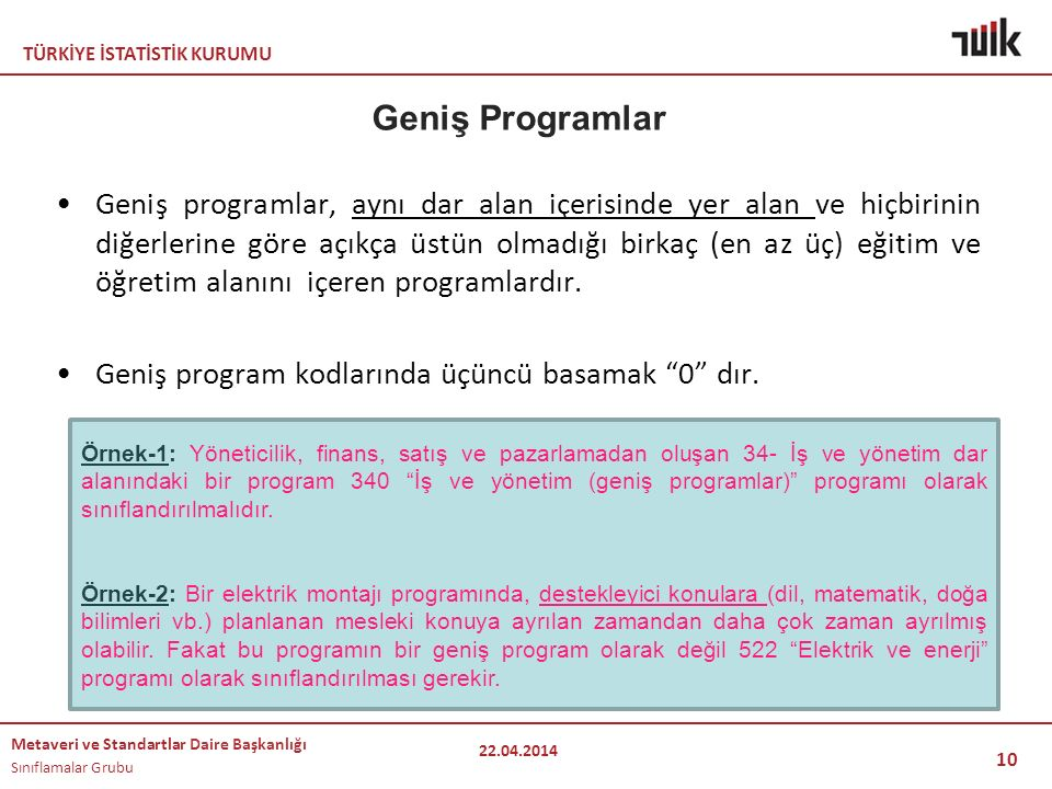 Geniş Programlar