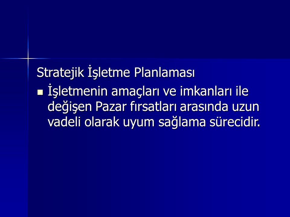Stratejik İşletme Planlaması
