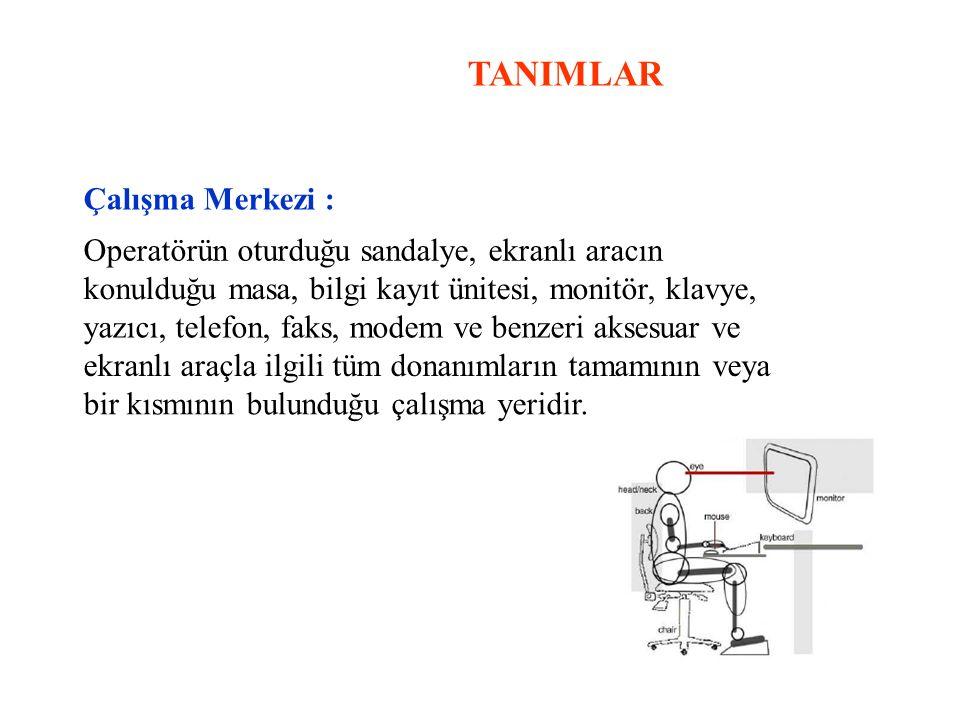 TANIMLAR Çalışma Merkezi :