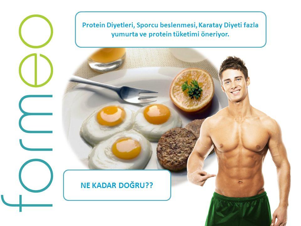 Günlük alınması gereken proteinin en az %60'ını içeren bir kahvaltı