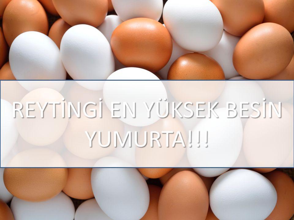 REYTİNGİ EN YÜKSEK BESİN YUMURTA!!!