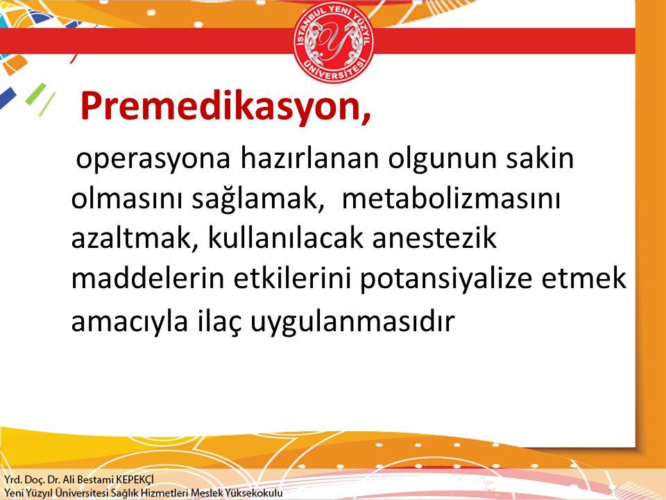Premedikasyon,