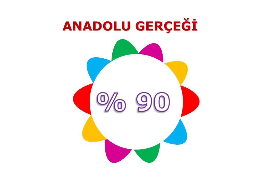 ANADOLU GERÇEĞİ % 90