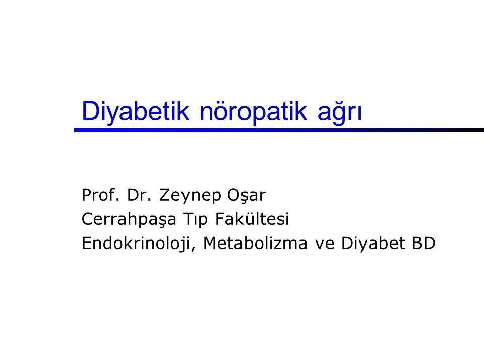 Diyabetik nöropatik ağrı