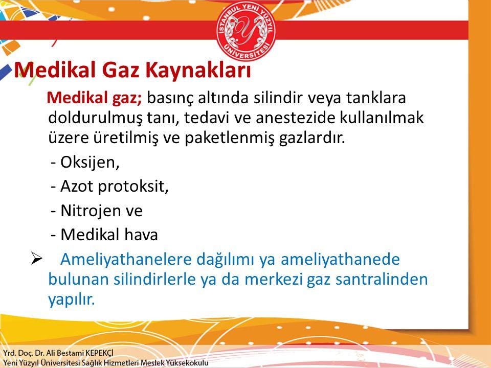Medikal Gaz Kaynakları