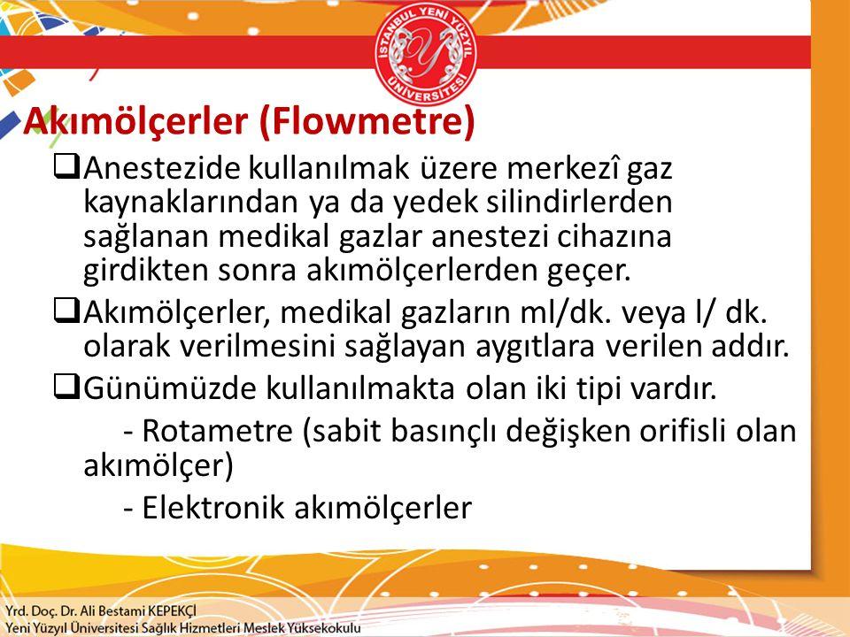 Akımölçerler (Flowmetre)