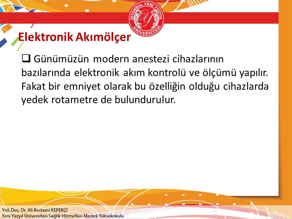 Elektronik Akımölçer