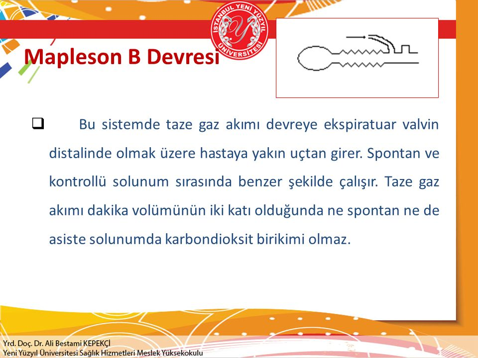 Mapleson B Devresi