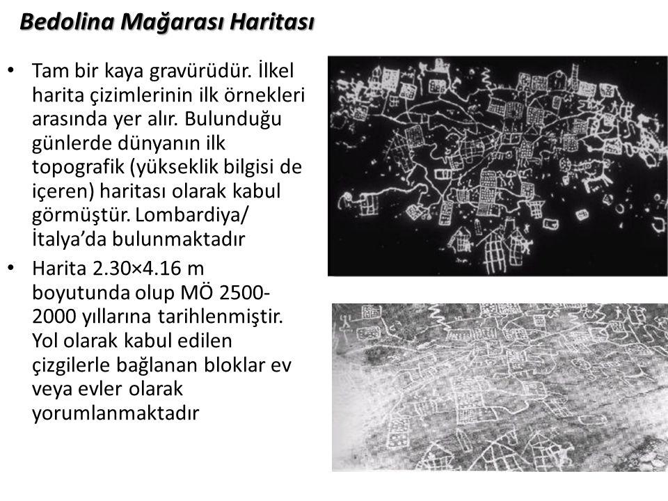 Bedolina Mağarası Haritası