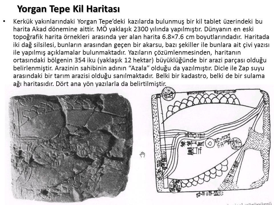 Yorgan Tepe Kil Haritası