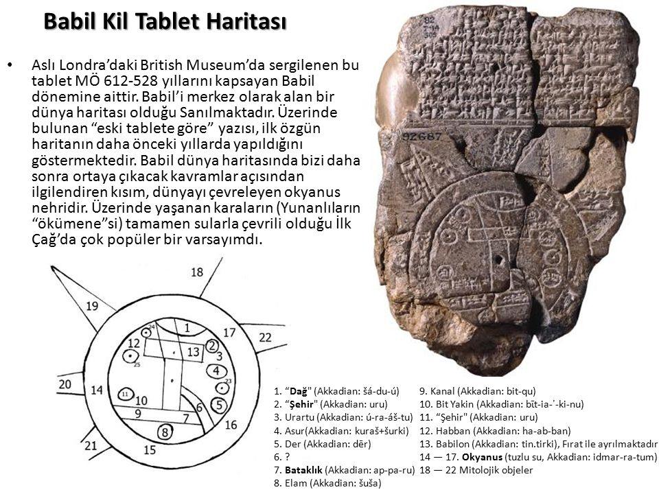 Babil Kil Tablet Haritası