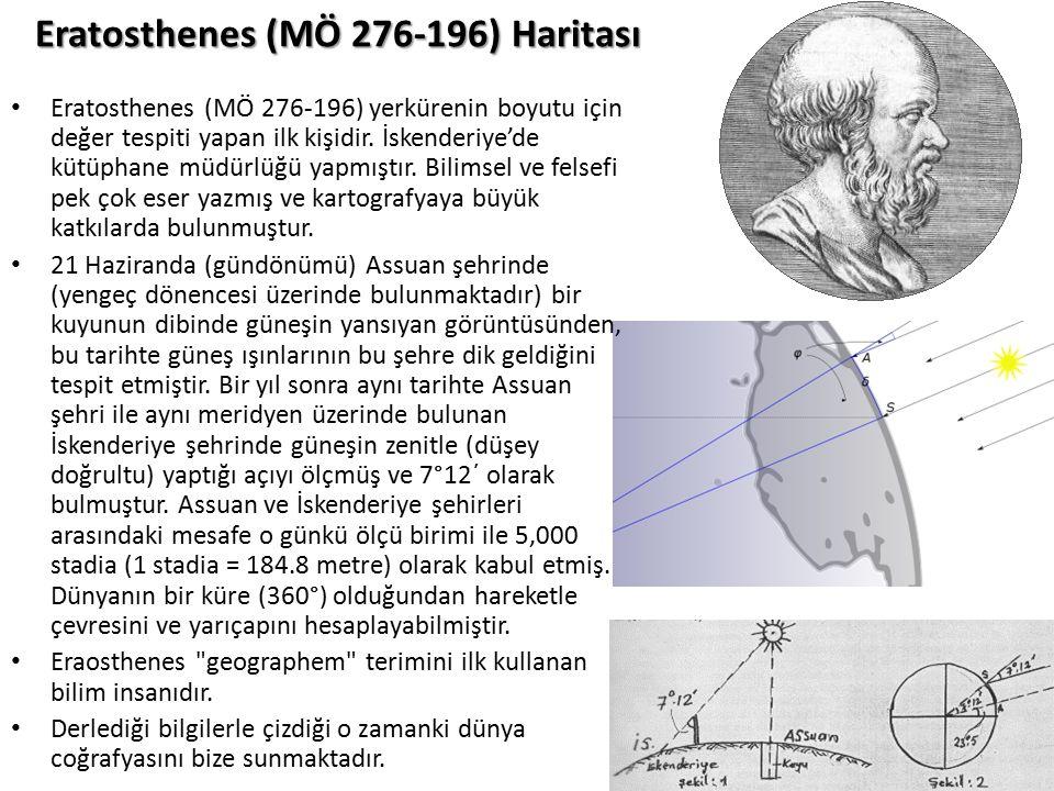 Eratosthenes (MÖ 276-196) Haritası