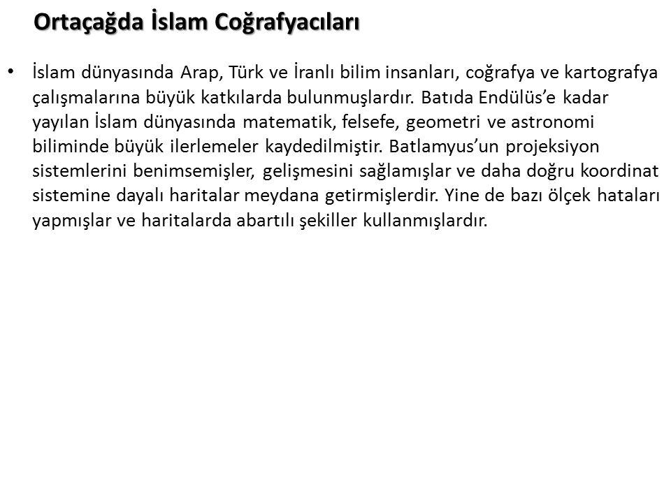 Ortaçağda İslam Coğrafyacıları