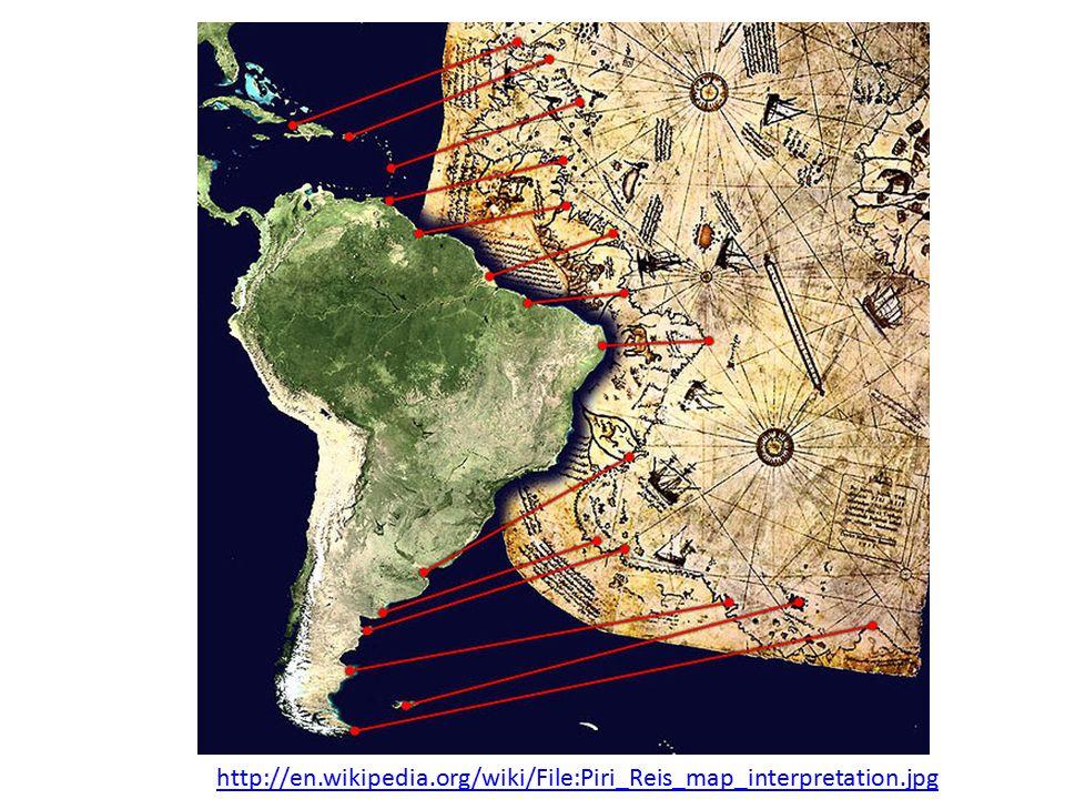 http://en.wikipedia.org/wiki/File:Piri_Reis_map_interpretation.jpg