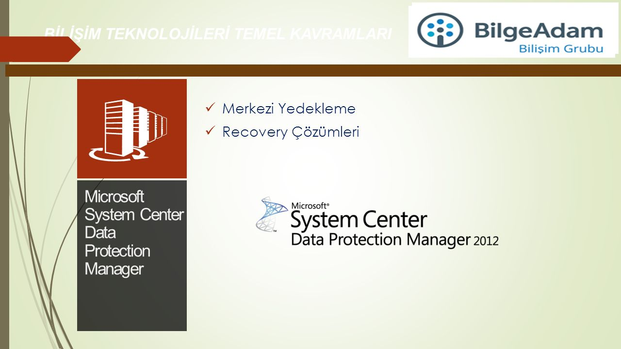 Microsoft System Center Data Protection