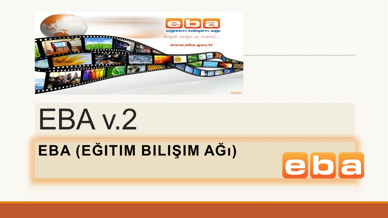 EBA (Eğitim Bilişim Ağı)