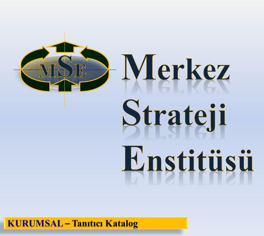MSE Merkez Strateji Enstitüsü KURUMSAL – Tanıtıcı Katalog