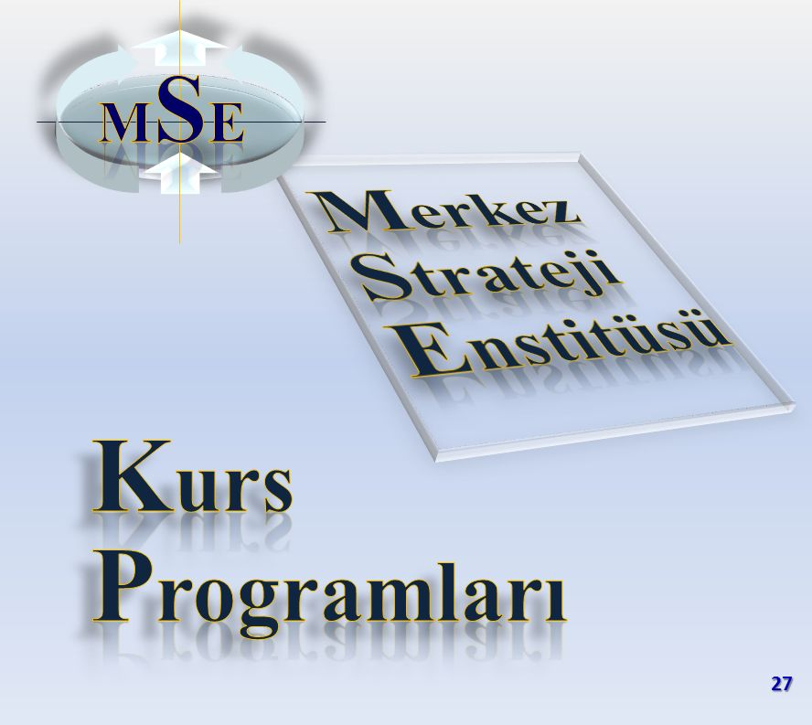 MSE Merkez Strateji Enstitüsü Kurs Programları 27