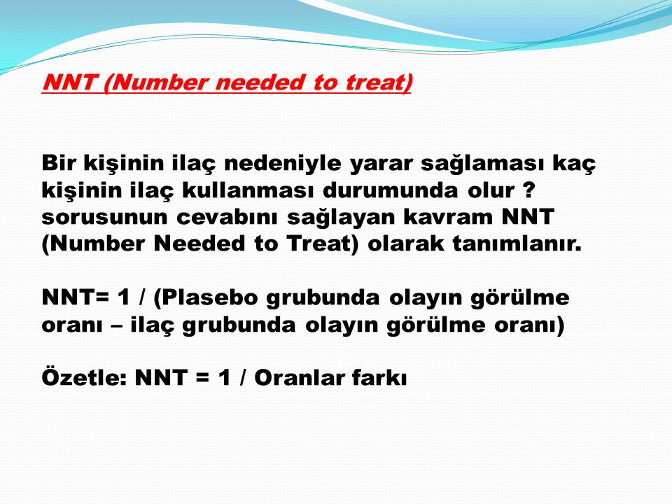 NNT (Number needed to treat)