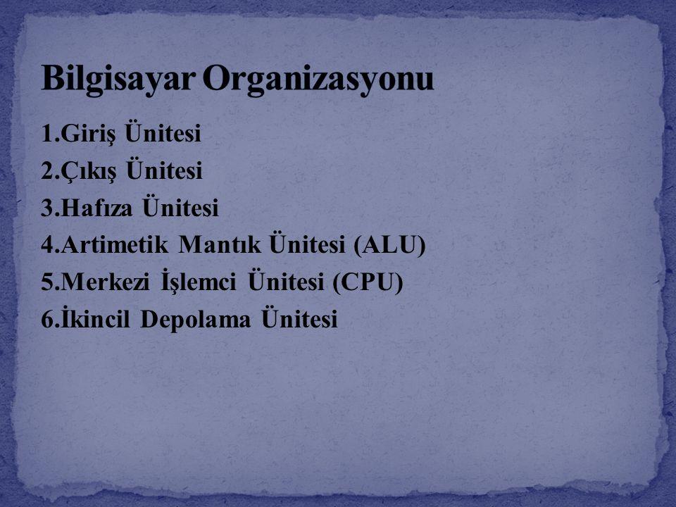 Bilgisayar Organizasyonu