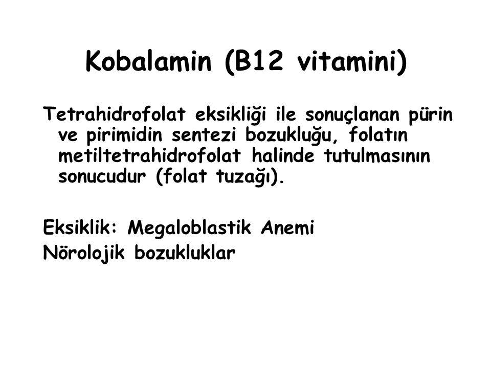 Kobalamin (B12 vitamini)