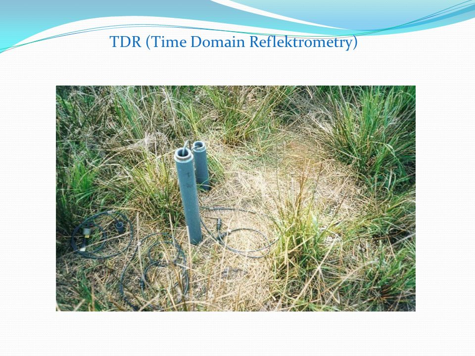 TDR (Time Domain Reflektrometry)