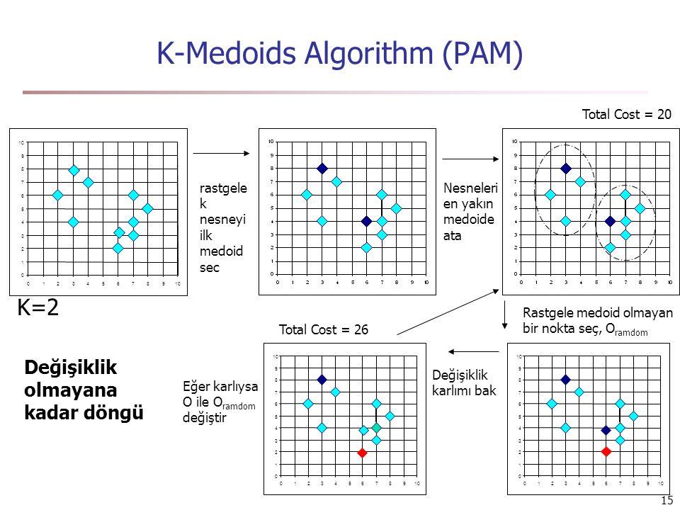 K-Medoids Algorithm (PAM)