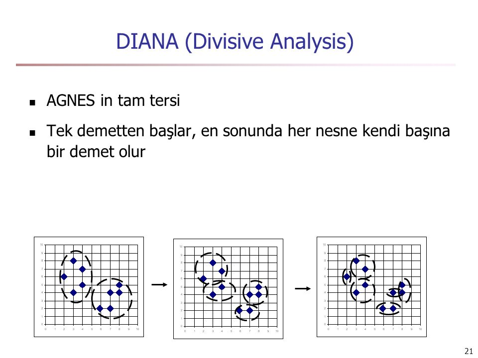 DIANA (Divisive Analysis)
