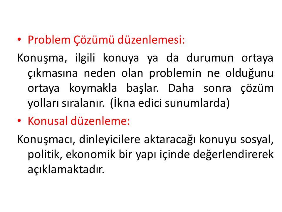 Problem Çözümü düzenlemesi: