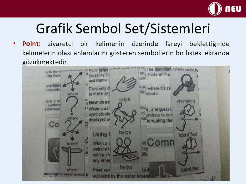 Grafik Sembol Set/Sistemleri