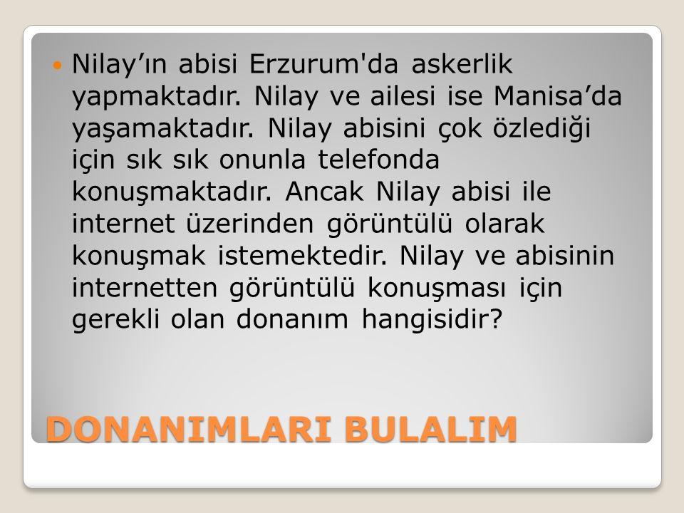 Nilay'ın abisi Erzurum da askerlik yapmaktadır