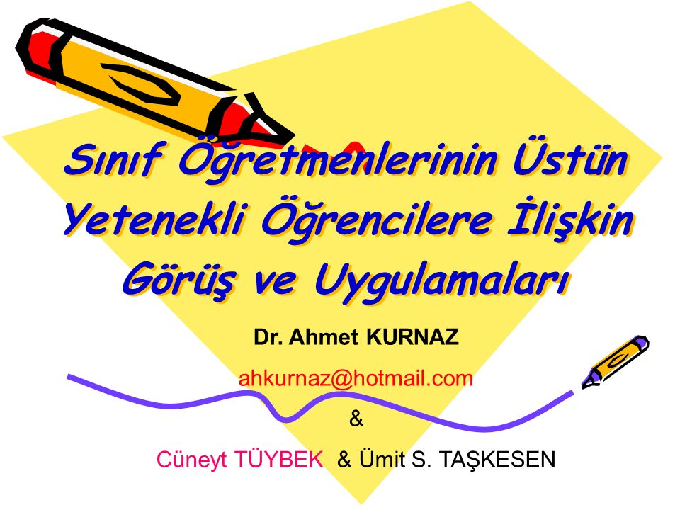 Cüneyt TÜYBEK & Ümit S. TAŞKESEN